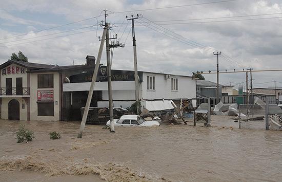Наводнение в Крымске (Краснодарский край)