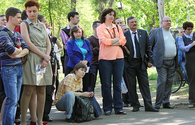 Митинга в защиту профессора Саввы. Краснодар