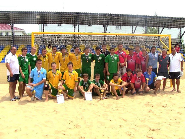 Пляжный футбол Краснодарский край