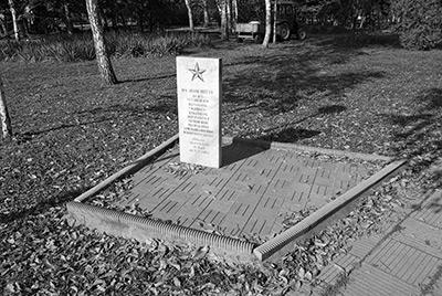 Памятник воинам, погибшим в Чеченской Республике - Первомайская роща. Краснодар